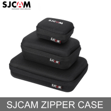 Original Sjcam Black Small/Medium/Large Size Storage Collection Bag For SJCAM SJ4000 Series,Sj5000 Series,M10 Series,M20 зарядное устройство для аккумуляторов sjcam sj4000 sj5000 m10