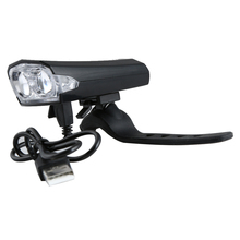 Rechargeable Bicycle Front LED Light Ultra Bright Torch Cycling Lamp with USB For Mountain Bike City Bike Night Cycling 2Colors