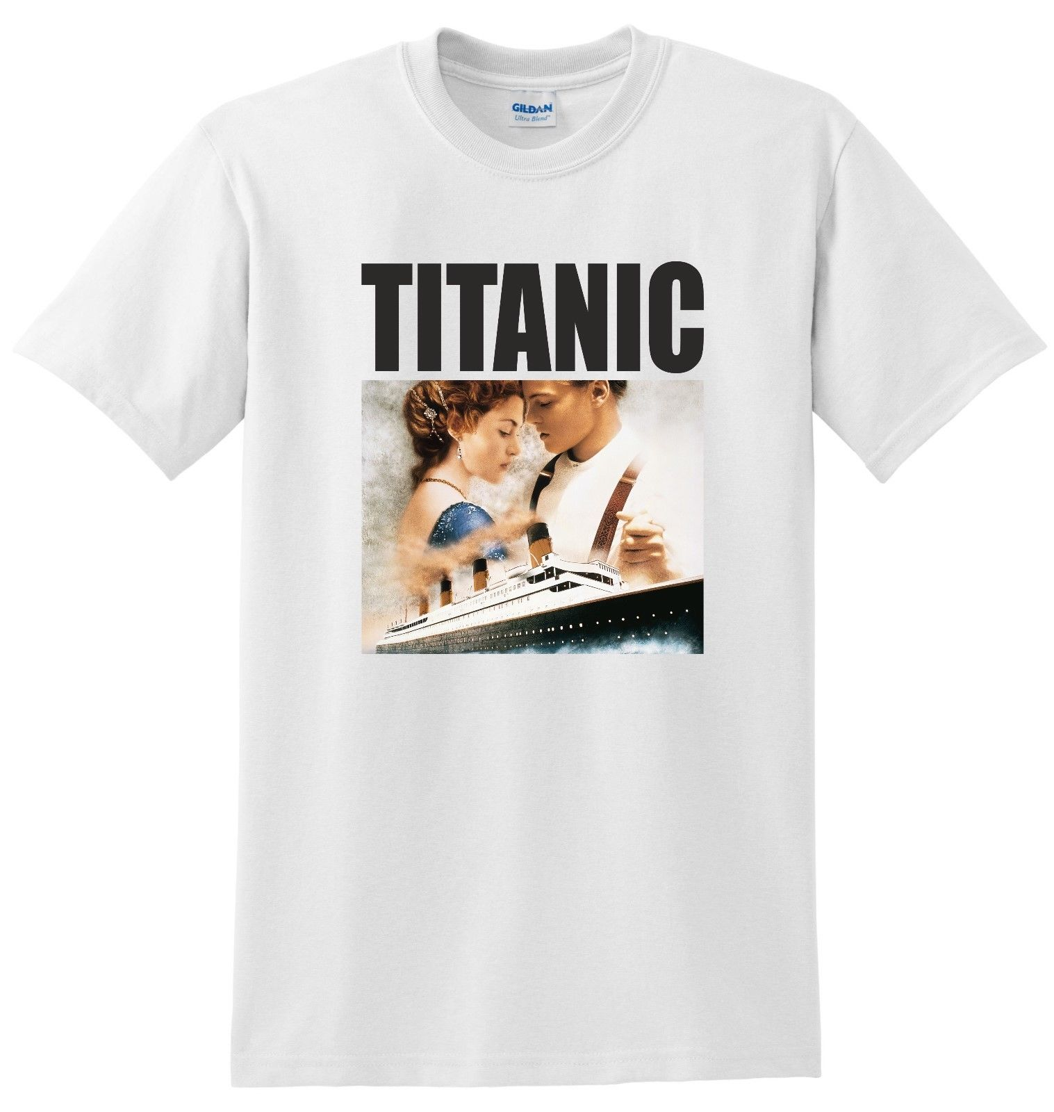 Titanic T shirt 1997 film hollywood free delivery New T Shirts Funny Tops Tee New Unisex Funny High Quality Casual Printing in T Shirts from Men 39 s Clothing