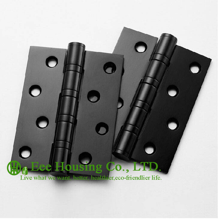 Attractive Aliexpress.com : Buy 4 Ball Bearing Black Door Hinges, Stainless Steel  Hinges For Doors, 4 Inches Black Door Hinge,Low Noise Hinges From Reliable  Stainless ...