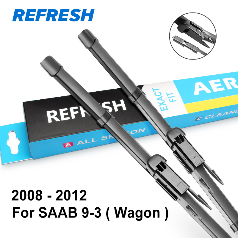 REFRESH Щетки стеклоочистителя для SAAB 9-3 Mk3 Fit Pinch Tab Arms Модель Год с 1998 по 2012 год - Цвет: 2008 - 2012 (Wagon)