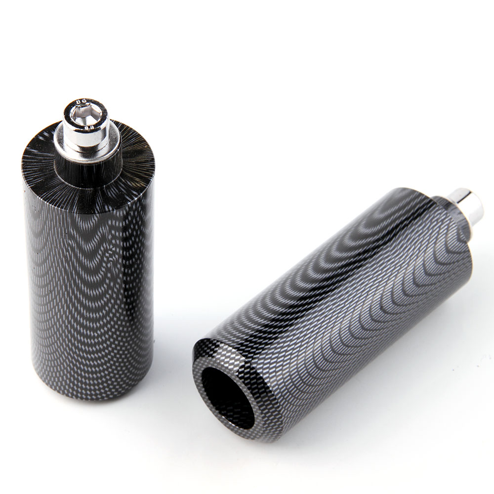 Freeshipping motorcycle parts Extended Frame Slider For Yamaha 2004 2005 2006 2007 2008 2012 FZ 6 FZ 6S 600 Carbon in Falling Protection from Automobiles Motorcycles