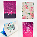 Cartoon Cute Owl Bird Flower Style PU Leather Stand Case Flip Soft TPU Back Cover For Samsung Galaxy Note 10.1 N8000 N8010 Case