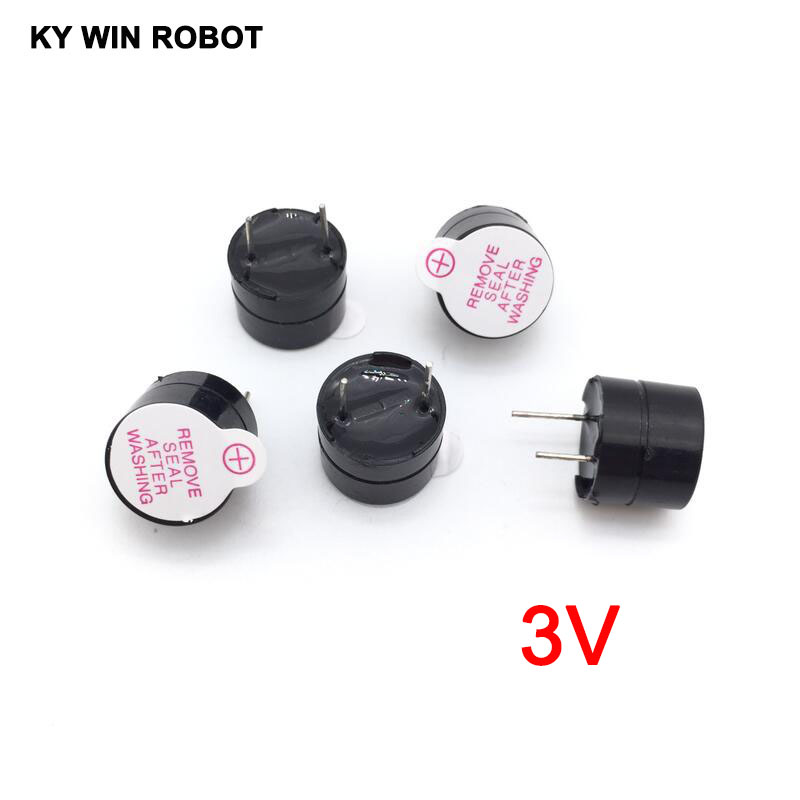 [ Electronic Diy Kit ] 3V Active Buzzer Electromagnetic (SOT Plastic Tube Length Acoustic )(5 Pieces)(China)