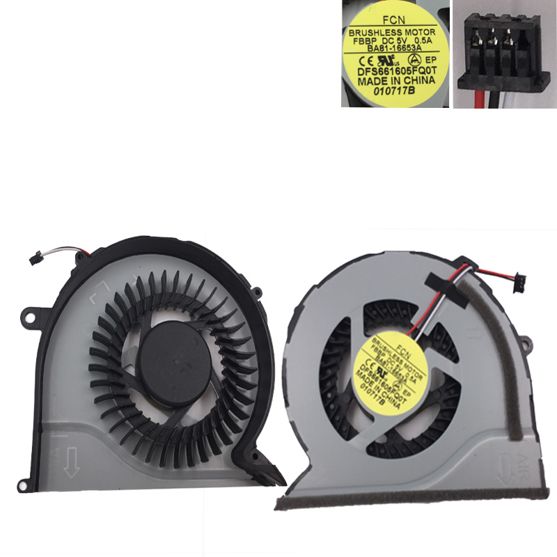 Brand NEW Laptop Cooling <font><b>Fan</b></font> for <font><b>SAMSUNG</b></font> <font><b>NP550P5C</b></font> NP550P7C 2Z12N5R CPU Cooler/Radiator Repair Replacement image