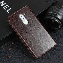 Для Huawei Honor 6X Чехол Флип Кошелек Из Натуральной Кожи Случаях для Huawei Mate 9 Lite GR5 2017 Честь 6X2016 Коке Fundas
