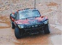De Calidad superior 1/10 Escala Modelo HSP 94155 rc Nitro Camión carrinho de controle remoto de nitro P2