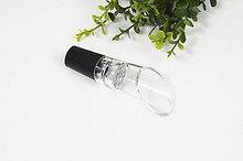 1PC Wine Aerator Pourer Acrylic Wine Decanter Portable Wine Stopper Bottle Accessories Aerating Pourer Decanter Spout ELJ 001 vinaera electric wine aerator decanter
