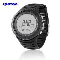 Relogio Masculino SPOVAN Digital Watch Men's Waterproof Sport Clock Men Barometer Altimeter Thermometer Stopwatch Wristwatch Man