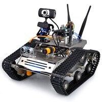 Wireless Wifi Robot Car Kit For Arduino Hd Camera Ds Robot Smart Educational Robot Kit For
