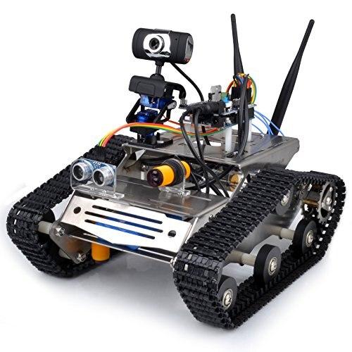 Sans fil Wifi Kit Voiture Robot pour Arduino/Caméra Hd Ds Robot Intelligent Robot Éducatif Kit pour Enfants