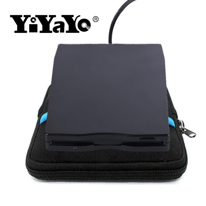 YiYaYo USB ārējā diskete 3.5 Portatīvais diskdzinis 1,44 MB FDD SB kompaktdisku emulatori Nav nepieciešami papildu ratiņi + soma