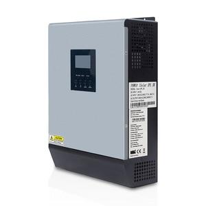 Image 3 - 3kva Solar Inverter 24V 220V Hybrid Inverter Pure Sine Wave Built in 50A PWM Solar Charge Controller Battery Charger inversor