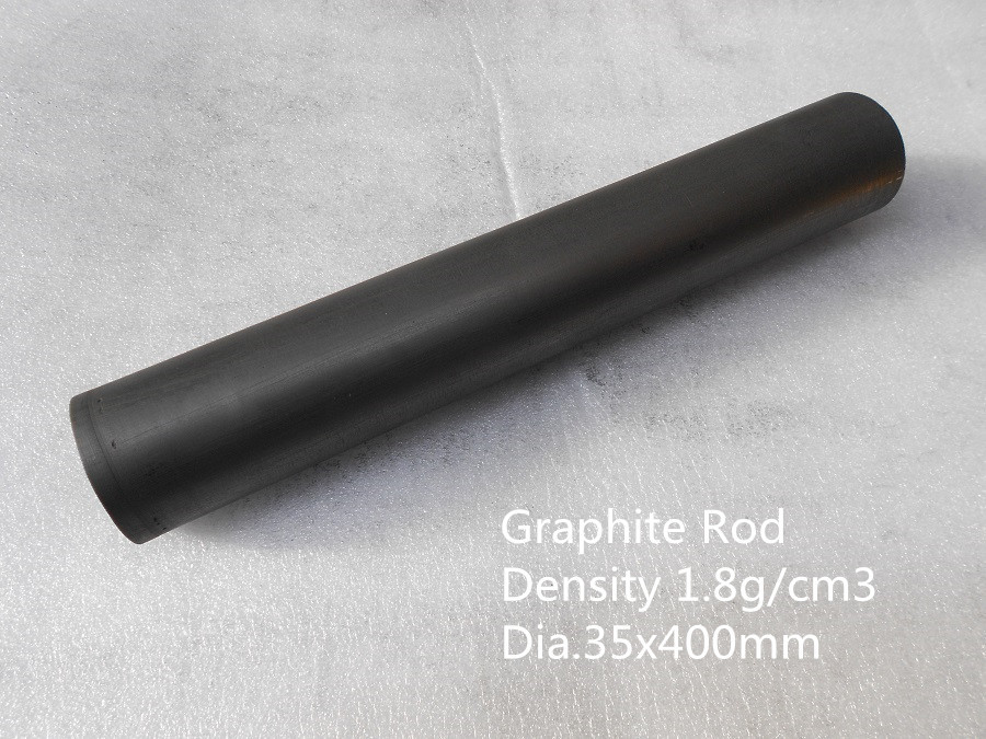 Dia.35*400mm Graphite Rod /vacuum graphite components /china graphite rods/ graphite stirring rods бур graphite 57h534
