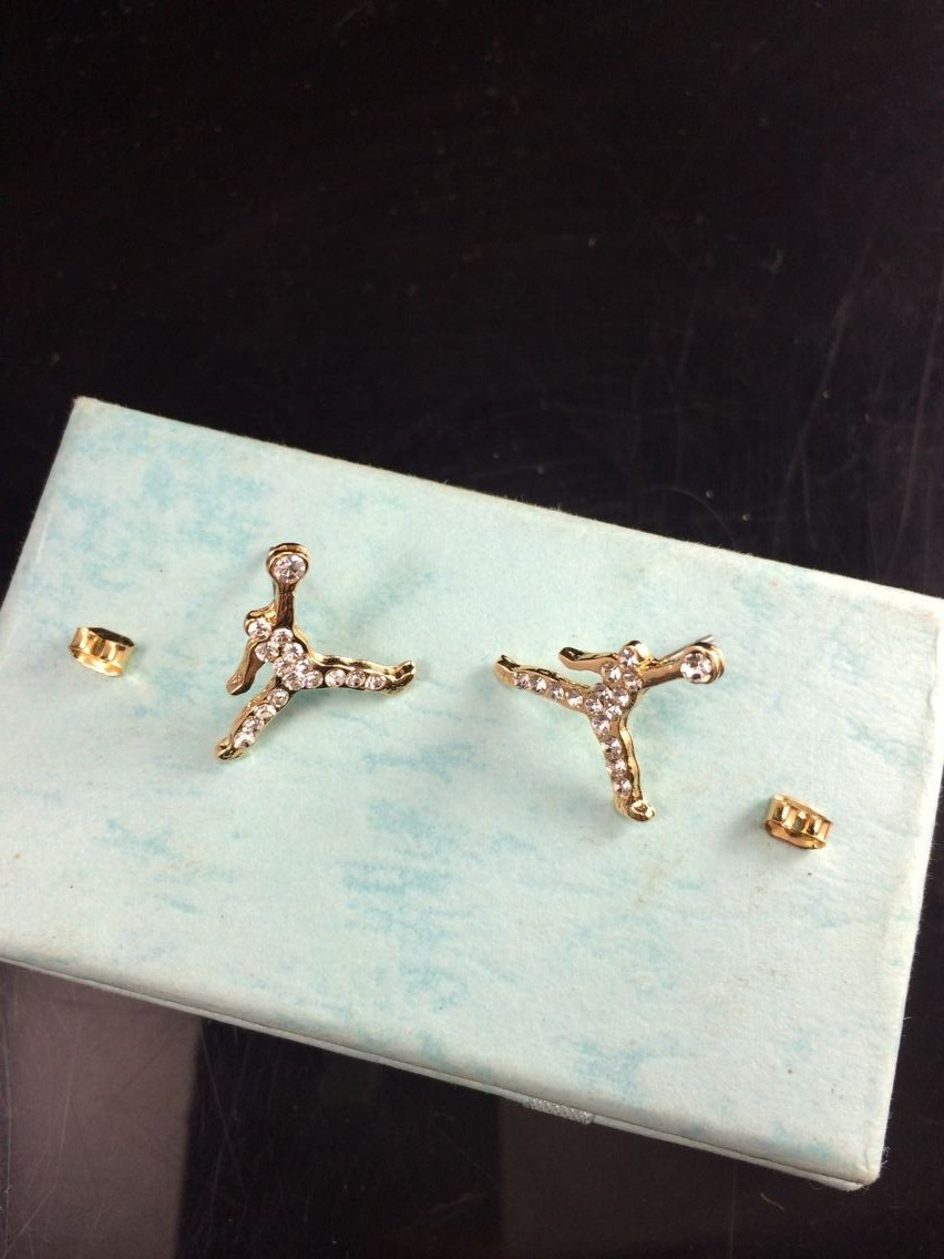 Aliexpress Free Shipping For 1 Pcs Fashion Jewelry Gold Donne Air  Jordan