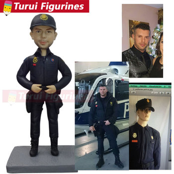 Images of photo to bobblehead heads creator customize aviator helicopter pilot bobblehead dolls polymer clay figurines dolls gif