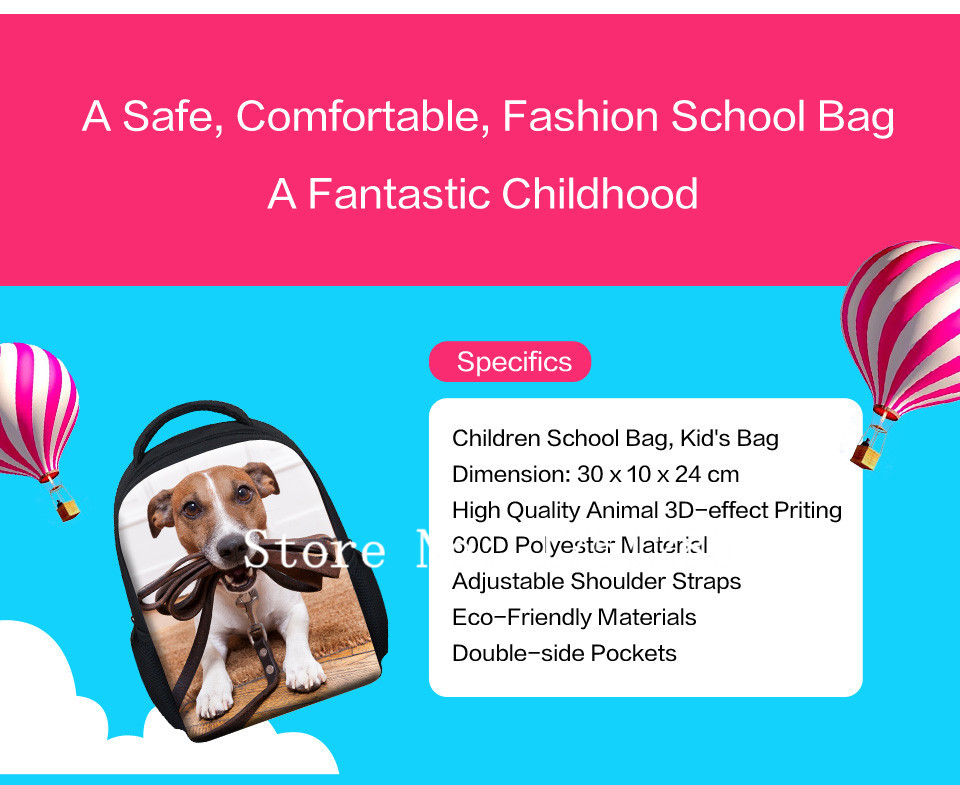 kids backpack baby school bags (2)