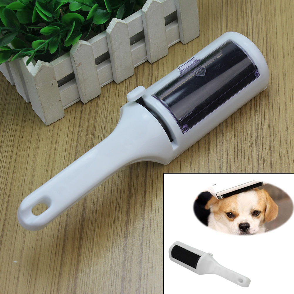 Reusable Electrostatic Static Clothes Lint Dust Cleaner Remover Pets Cat Dog Brush Animal Hair Coat Cleaning Sweeper Tool