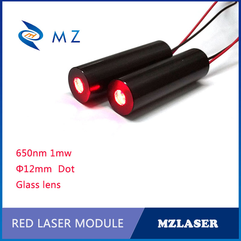 12mm 650nm1mw Class II APC Drives Industrial Grade Industrial Red Dot Laser Module