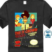 Quality Shirts New Style The It Crowd Standard Nerds Funny Geek Computer Tech Tv Show New Black T Shirt Funny Casual Clothing