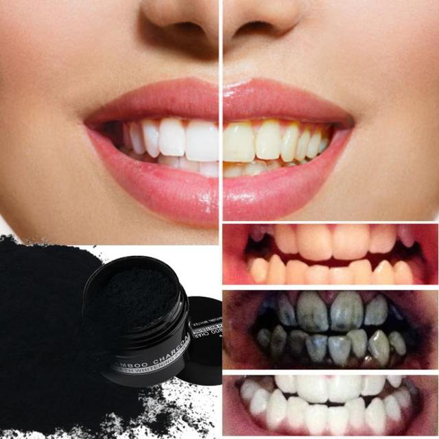 Excellent Quality Teeth Whitening Powder Natural Organic Activated Charcoal Bamboo Toothpaste Containing Whitening Ingredient