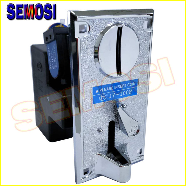 2PCS/LOT CPU Comparable Coin Acceptor Electronic Coin Selector for Arcade Game Slots Machine Coin Operated Games JY-100F