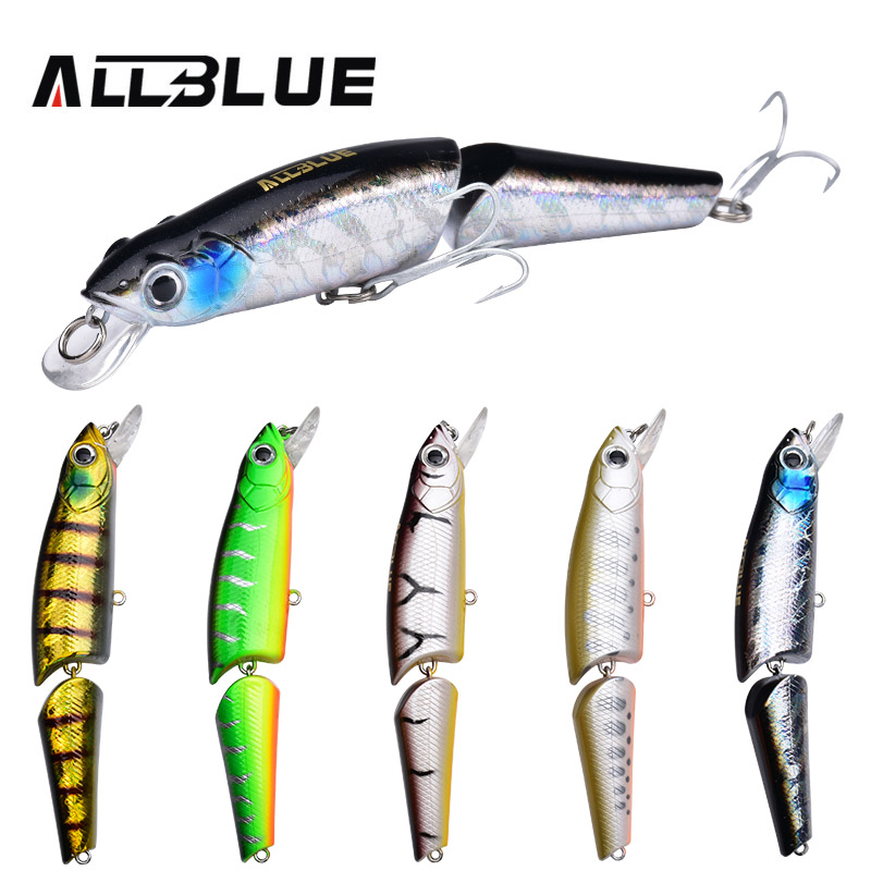 ALLBLUE 5pcs/lot Fishing Lure Floating Minnow Wobbler 115mm/18g Bass Bait 3D Eyes Plastic Lure For Fishing Isca Artificial Peche 1pcs 16 5cm 29g big minnow fishing lures deep sea bass lure artificial wobbler fish swim bait diving 3d eyes
