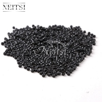 Neitsi Silicone Nano Ring Beads For Micro Loop Links Fusion Keratin Human Hair Extensions Black 1000