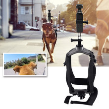 Pet Supplies Pets Dog Harness Mount Adjustable Chest Strap Shoot Picture and Video for Insta360 ONE X/EVO Action Camera(China)