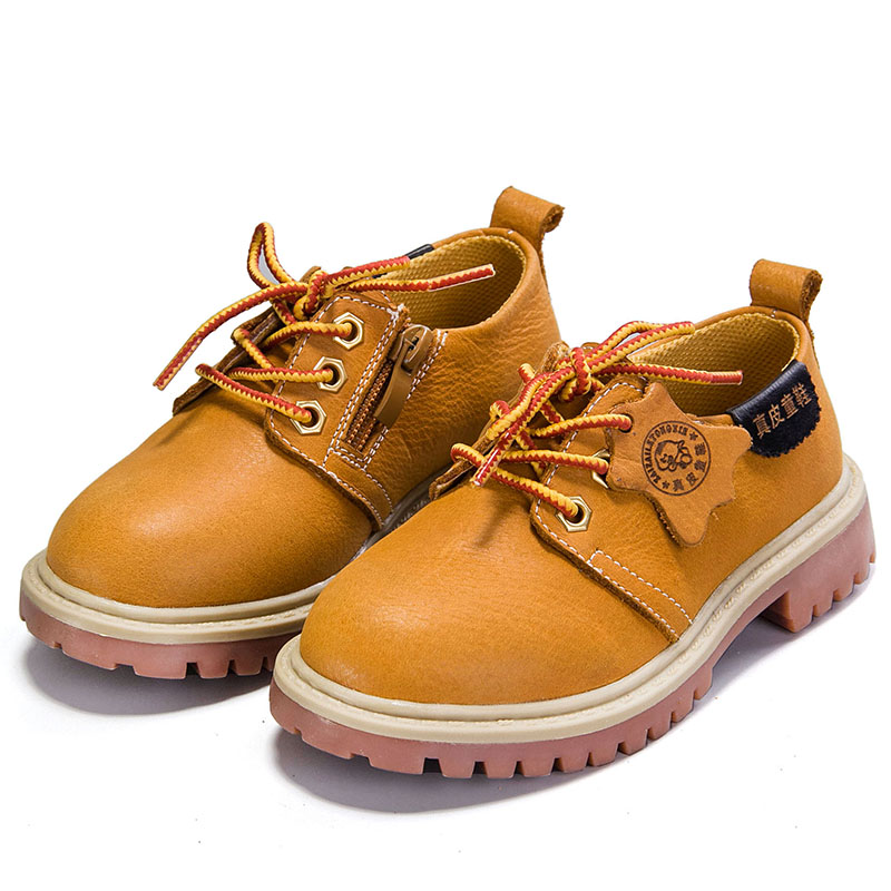 High quality genuine leather children shoes & adult shoes martin boots waterproof  kids boys & girls shoes Parents child shoes high quality new arrival 2016 fashion autumn children shoes martin leather boots boys girls shoes kids scrub boots 5 colors