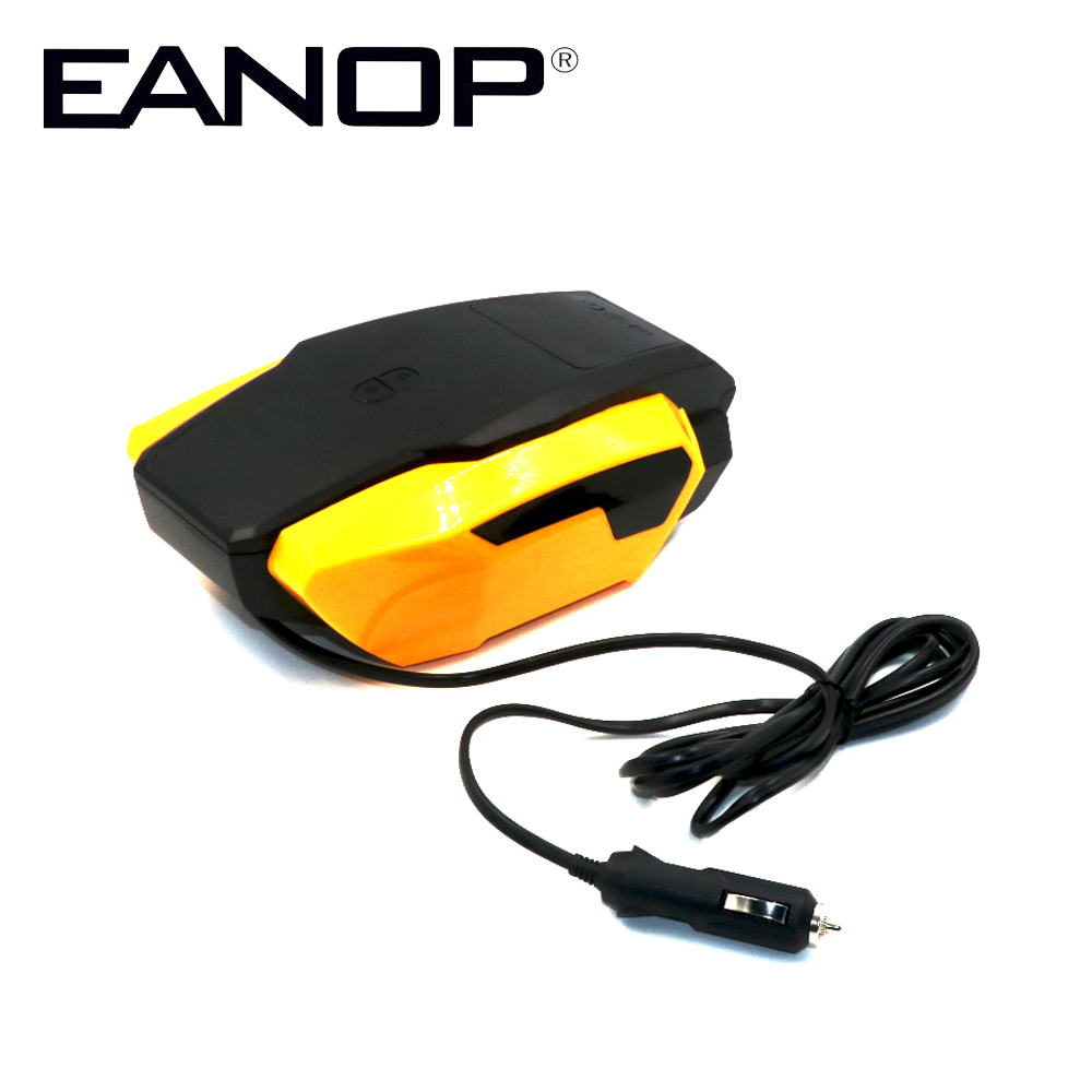 EANOP font b TPMS b font Tire Pressure Monitor 120W Car Tire Inflator 12 24V Input