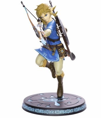 The Legend of Zelda Breath of the Wild Link Archer 10 PVC Painted Statue Action Figure Collectible Model Toy