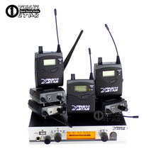 In Ear Monitor Wi-fi System Six Bodypack Receiver Skilled Stage UHF Cordless One USB Transmitter Monitoring in Earphone