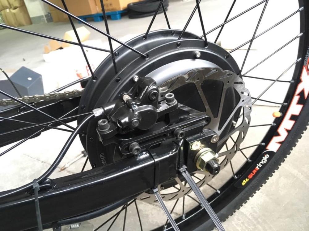 QS V3 qendër elektrike biçikletë qendër rrota me fuqi 10kw kulmin - Çiklizmit - Foto 4