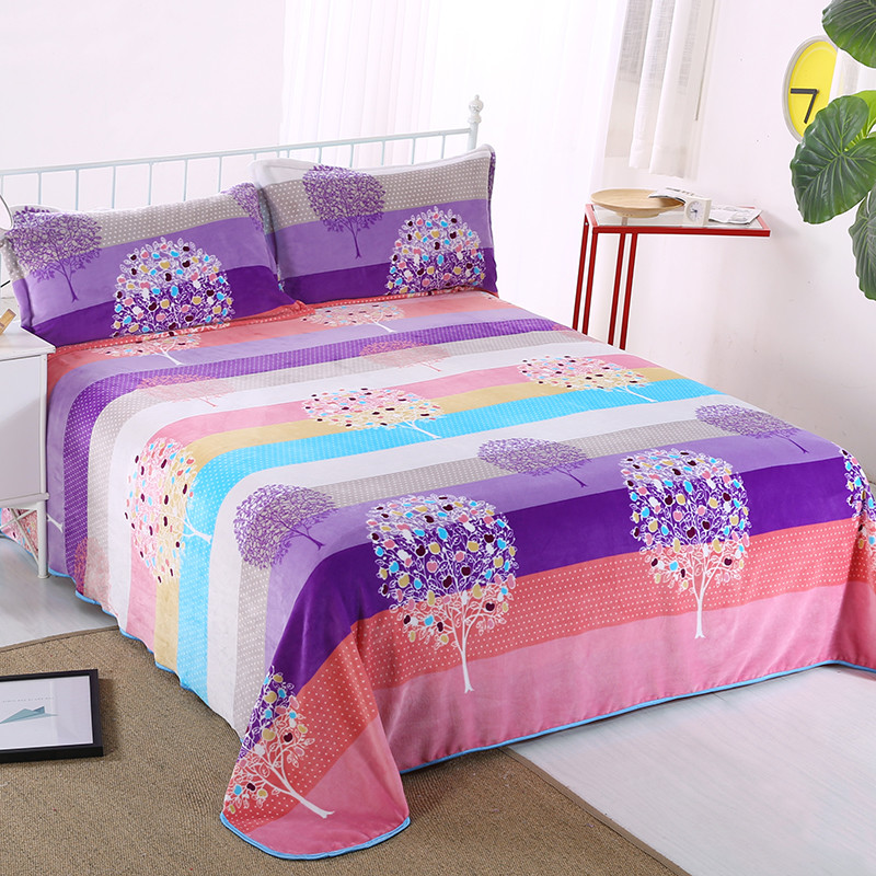 High Quality Pillowcases Bedspread 100% Polyester Comfortable And Breathable A Variety Of Styles Are Available