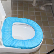1 pcs TravelBathroom Accessories Disposable Toilet Seat Cover Mat Paper Elastic Non-woven Fabric Waterproof Safety