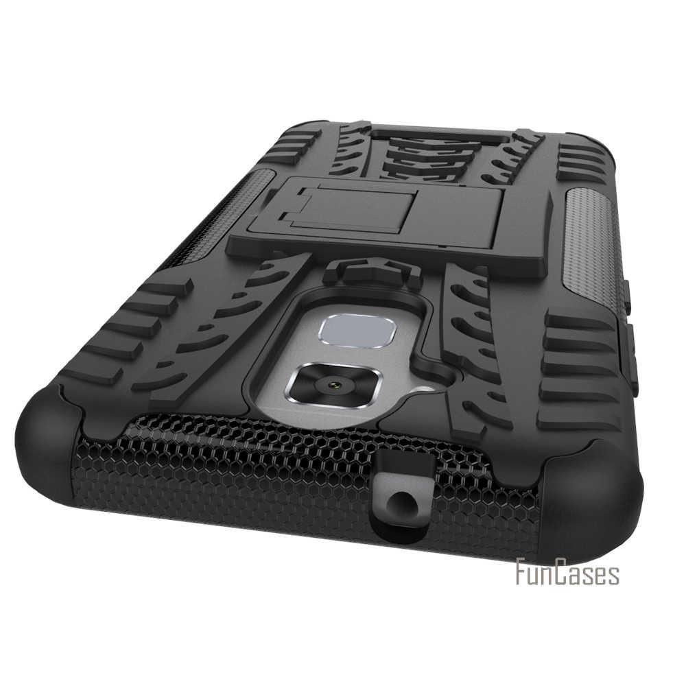 Asusのzenfone 5 3マックスZC520TLケース5.2インチハイブリッドキックスタンドケース眩ま頑丈なゴム鎧pc + tpuスタンド機能耐震ケース