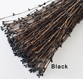 30 Colors Black Pip Berry Garland Vine Stem for Floral Head Ring Crafts Wedding Garland Decoration