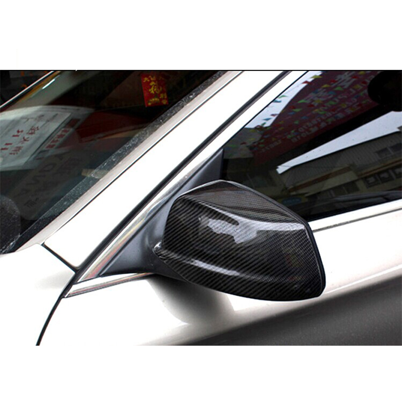 For BMW 5 Series F10 Carbon Fiber Mirror Cover Trim 2010 2013 520i 523i 528i 535i