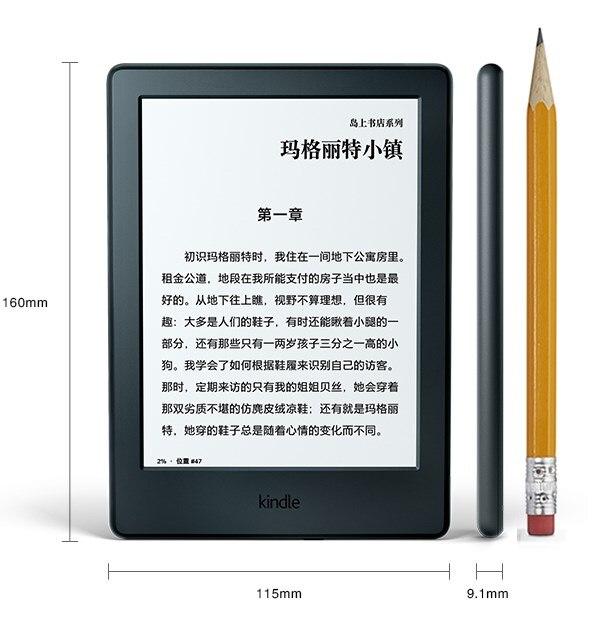Tout nouveau kindle 8 génération e livre lecteur 2016 modèle ebook e livre eink e-ink lecteur 6 pouces écran tactile wifi ereader mieux