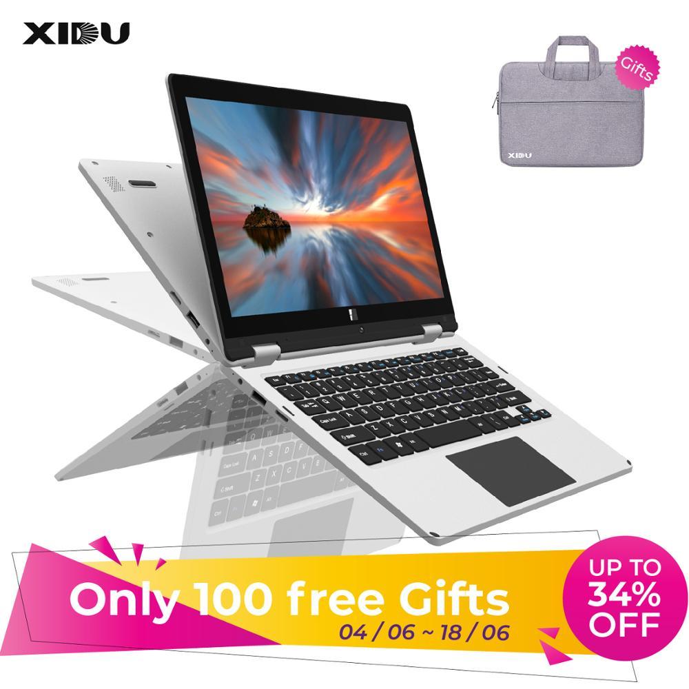 XIDU 11.6 Polegada 1920x1080 Intel Cereja Julgamento CR Z8350 Quad Core Windows Tablet 4 10 RAM GB ROM 64GB 2 em 1 DRR3 Laptops Tela Sensível Ao Toque