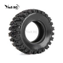 Yfan 4PCS D1RC 1/8 Super Grip RC CRAWLER 3.2 Inch Thick Wheel Tires With Sponge For rc crawler and 1/10 Axial KM2  wraith