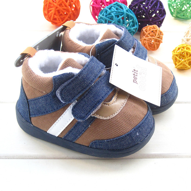 Baby Shoes Fashion Baby First Walkers Non-slip Rubber Bottom Toddler Shoes for Baby Boys