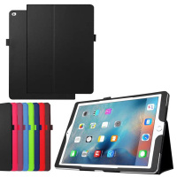 New Luxury 2 Folding Folio Stand Holder Flip Leather Case Protective Cover For Apple IPad Pro