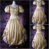 Викторианский корсет готический/Гражданская война Southern Belle бальное платье Хэллоуин платья Sz США 6 26 XS 6XL v 71