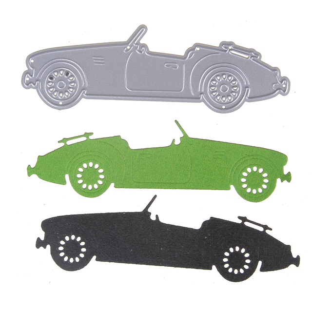 Creative DIY Metal Cutting Dies Sports Car Embossing Stencil Craft Dies For Cards Album Scrapbooking DIY Decoration