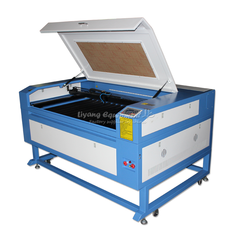 LY 130W 1290 PRO Co2 USB Laser Cutting Machine With DSP System Auto focus Laser Cutter Engraver Chiller 1200*900 mm