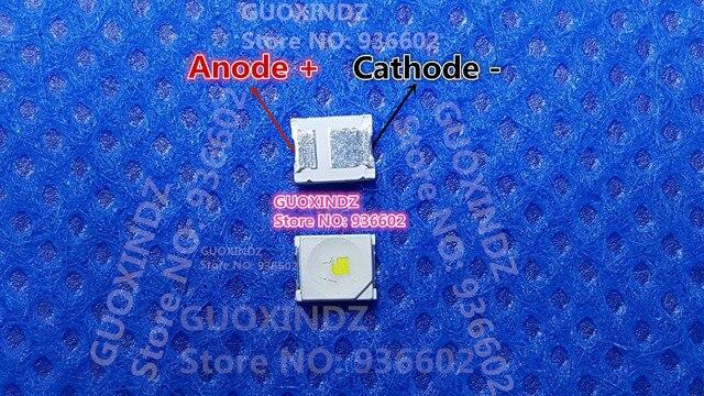 OSRAM DIODO EMISSOR de luz 1.5 W 3 V 1210 3528 2835 153LM Cool white Backlight LCD para TV TV Aplicação TCU JHCR. SB