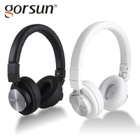 GORSUN 781 HiFi Headphone Stereo Surrounded Headset 3 5mm Headphones Foldable With Microphone For All Phone