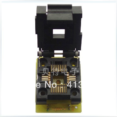 Import CNV-PLCC-EP1M32 burn to test adapter Cap import block adapter ic51 0562 1387 adapter tsop56 test burn